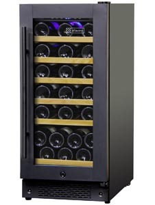 Allavino built-in wine refrigerator, 32 bottles, AWR30-1BR
