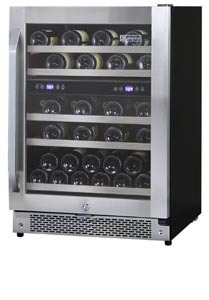Allavino 43 bottle wine cooler, AWR44-SRNA