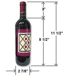 bottle size