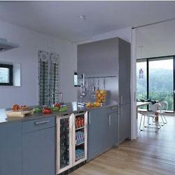 undercounter built-in wine cabinet