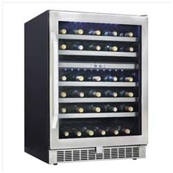 Danby 51 bottle dual zone wine cellar, DWC153BLSST