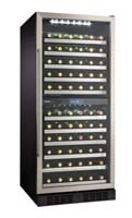 Danby DWC110BLSRH 110 bottle wine cooler with two zones