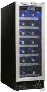 Danby DWC276BLS 27-Bottle Slim Wine Cooler
