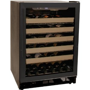 Haier 50 bottle wine fridge, HVCE24DBH