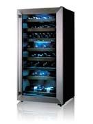 LG 65 bottle wine cooler