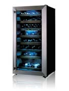 LG 65 bottle wine cooler