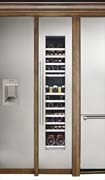 Thermador 70-bottle wine cooler, 18 inch wide