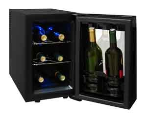 Vinotemp 8-bootel, wine cooler, VT-8TEDTS-ID