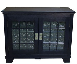 Vinotemp Portofino Hamilton 2-Door 40-bottle wine credenza