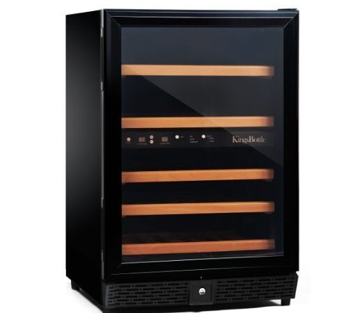 KingsBottle 50-bottle wine cooler front view