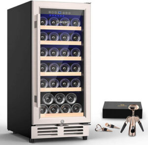 MOOSOO 30-Bottle Dual Zone Wine Cooler cc. 600 USD - YES or NO?