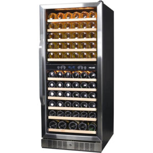 NewAir 116-Bottle Wine Refrigerator, AWR-1160DB: A Dual-Zone Cellar For The Frugal Wine Collector