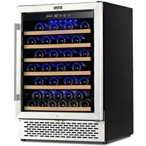 Colzer 51-Bottle Wine Cooler - A Good-Value, Single-Zone Unit - Quiet Yet Efficient